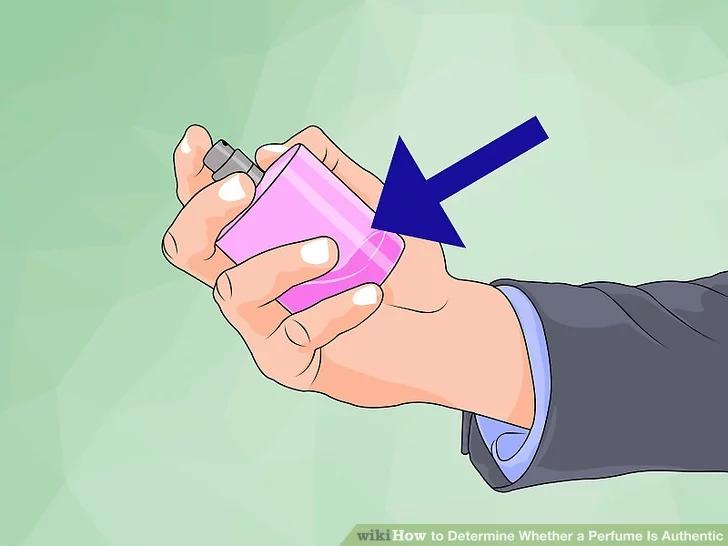 تشخیص عطر اصلی با بررسی بطری عطر