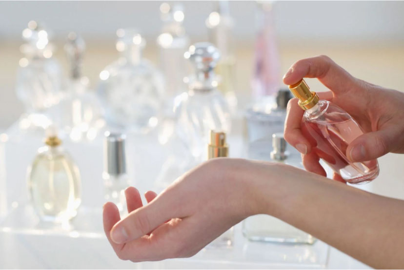 عطر مناسب برای پوست